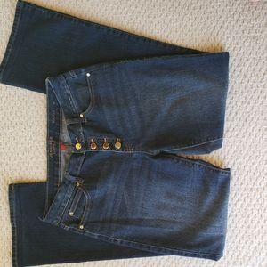 Jennifer Lopez Bootcut Button Fly Jeans